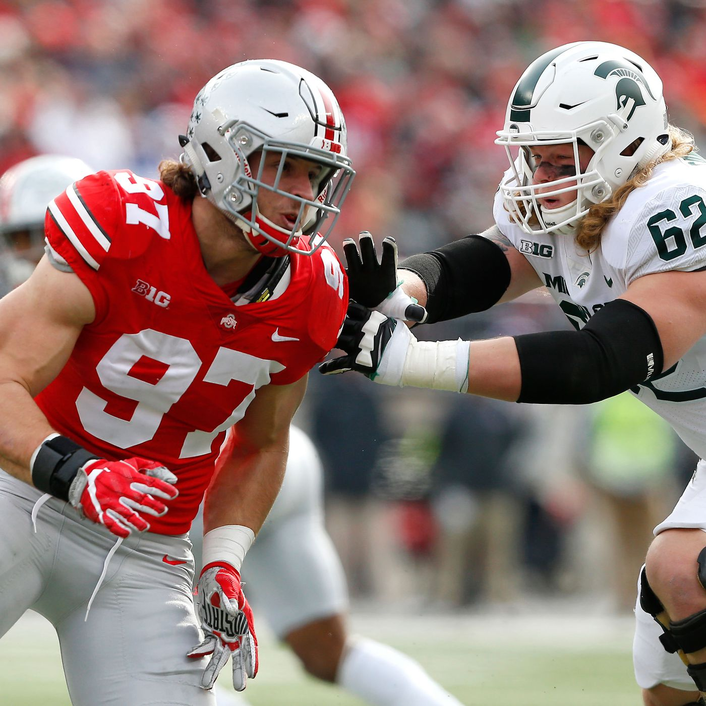 3c903852d 2019 NFL Draft position rankings  Top 5 edge rusher prospects heading into  2018-19 bowl season - Niners Nation