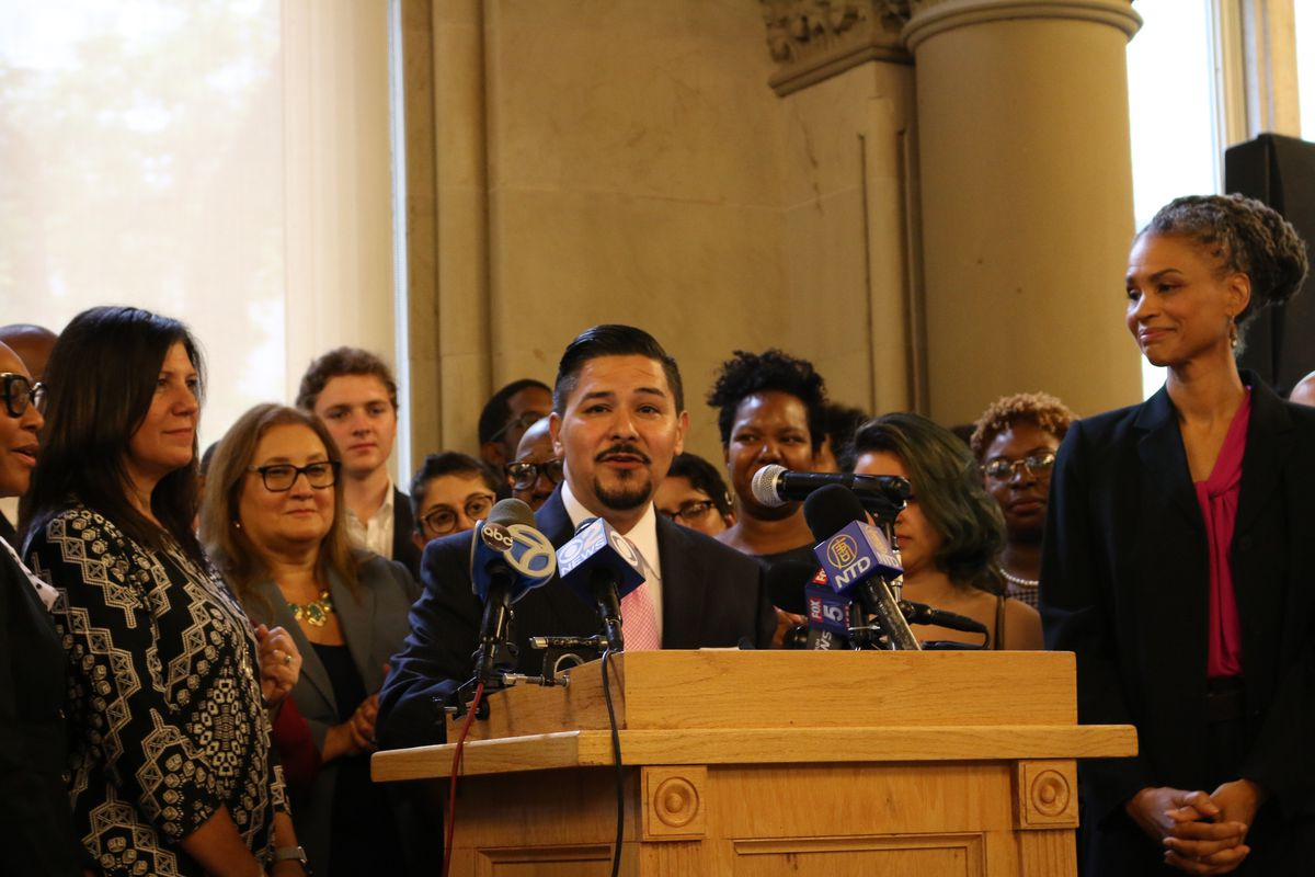Schools Chancellor Richard Carranza has doubled down on his emphasis on issues of race in the face of growing controversy.