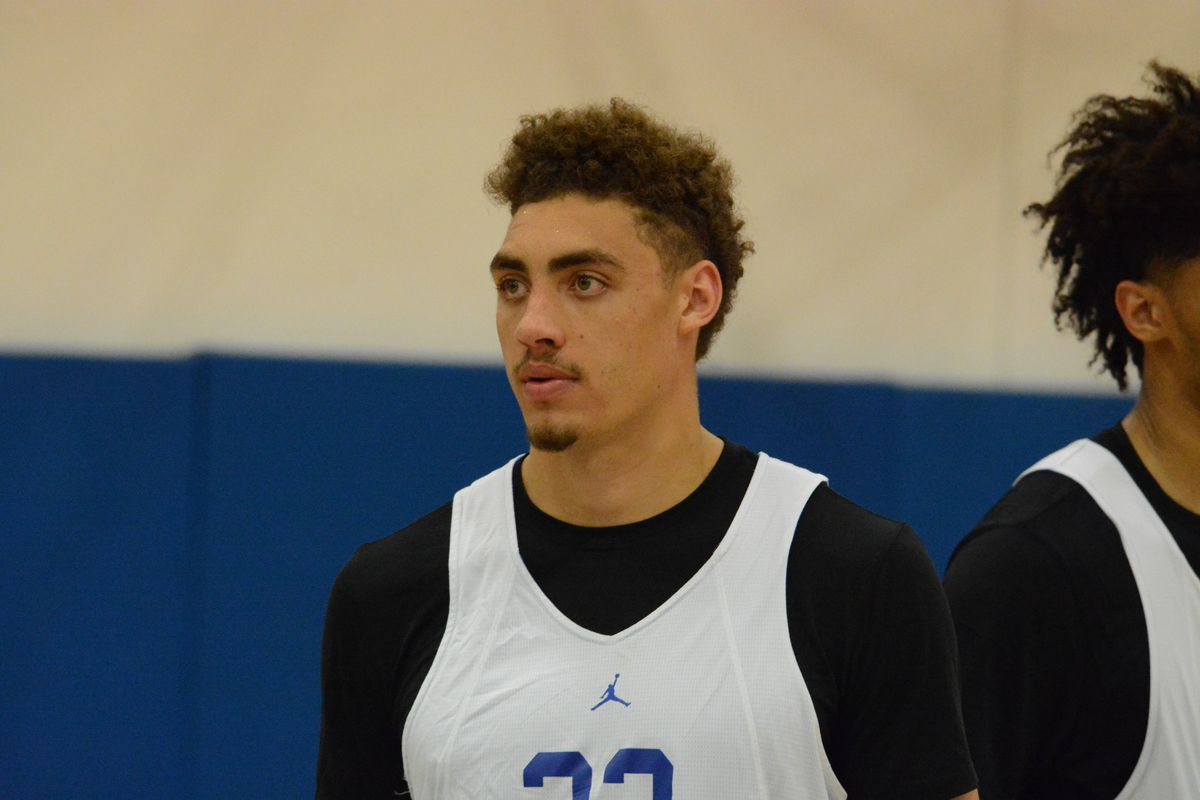 uk basketball one thing for reid travis to improve on before next