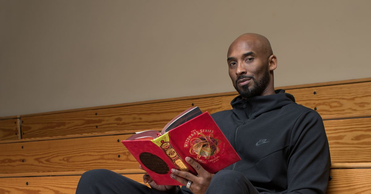 the 1st book created by kobe bryant   u2018the wizenard series