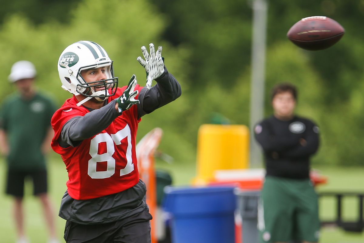 0154bea3 Eric Decker Signs With Titans - Gang Green Nation