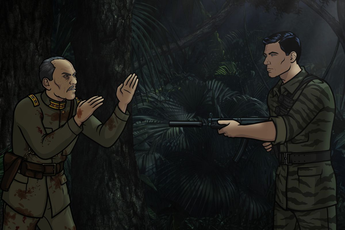 The sixth season premiere of Archer features Sterling Archer meeting a Japanese soldier who believes World War II never ended.
