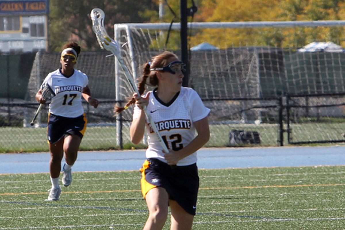 Claire Costanza was great for Marquette last year, and deserves a spot on the preseason all-Big East team.