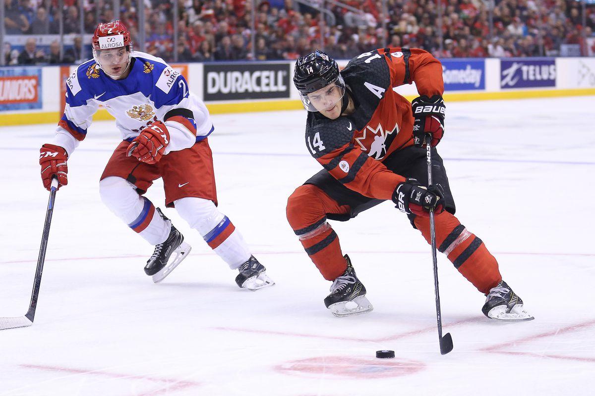 World Junior Hockey Highlights Mathew Barzal Vs Slovakia Game