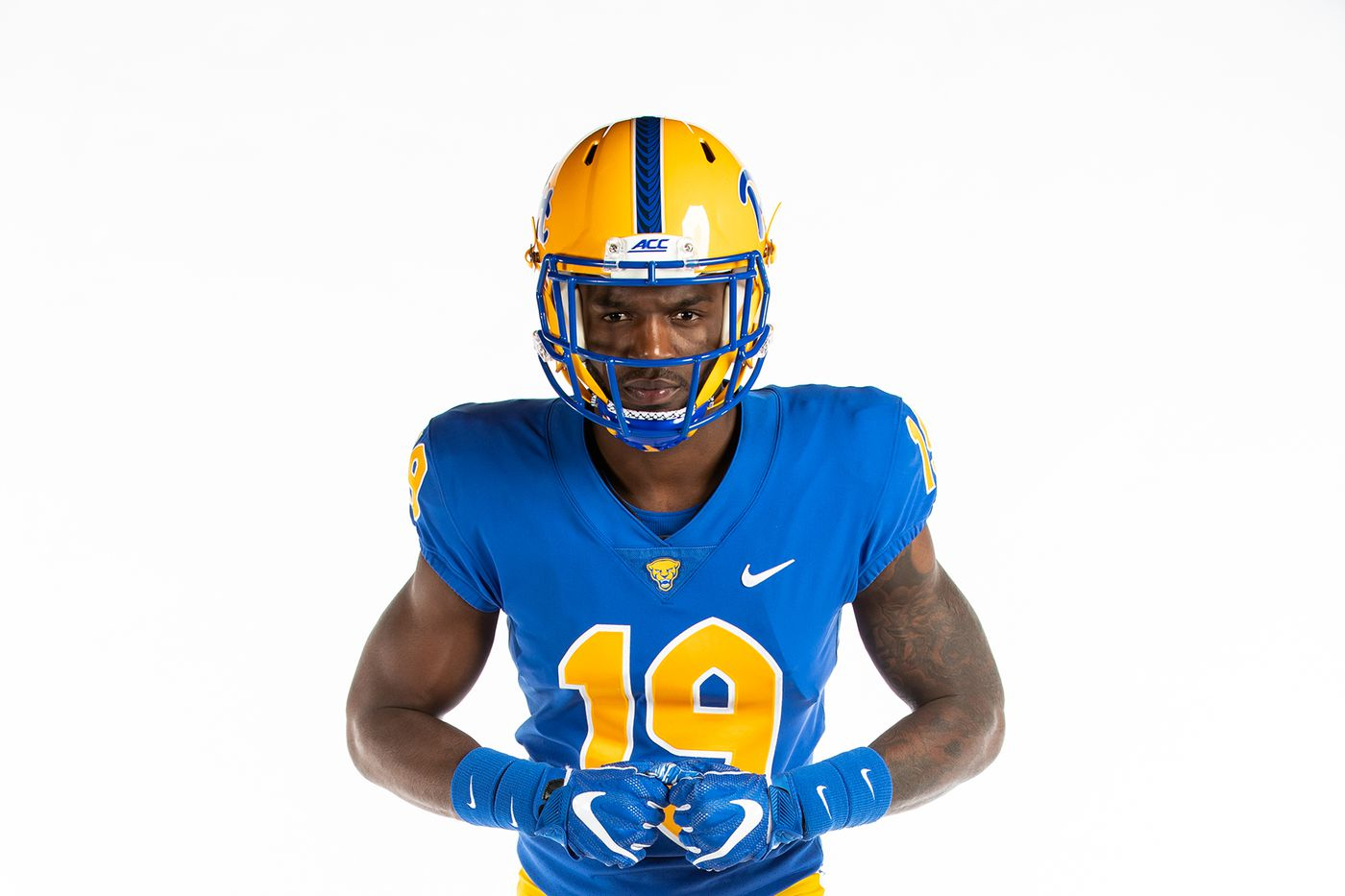 buy popular 677e5 9d895 9 thoughts about Pitt's extremely Pittsburgh new uniforms ...