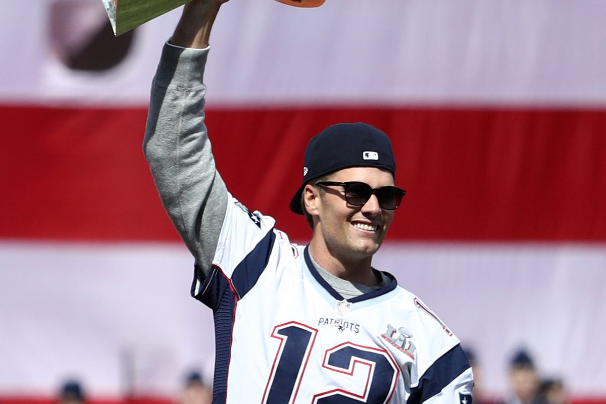 Tom Brady Greatest Of All Time Goat