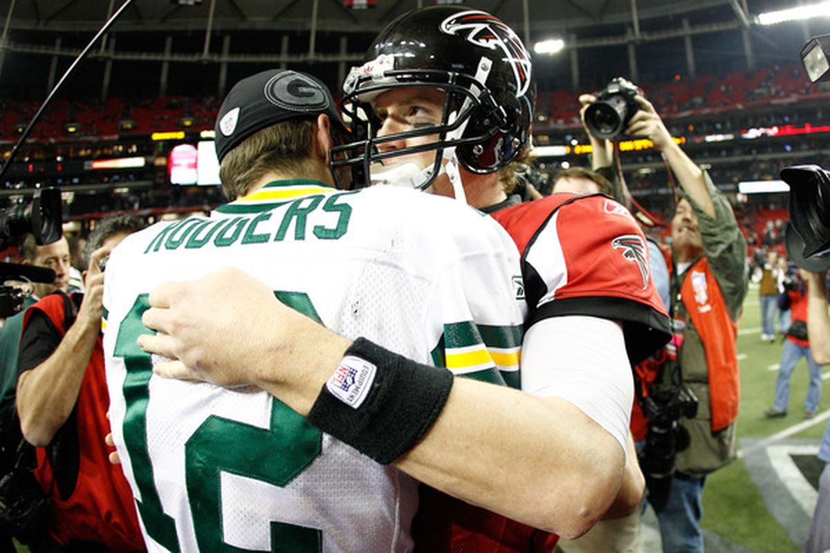 Rodgers v. Ryan.  (Photo by Chris Graythen/Getty Images)
