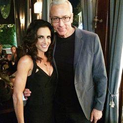 Celebrity sexpert Emily Morse with Loveline's Dr. Drew Pinsky