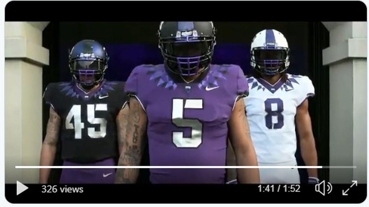 521e60e02 TCU football released new uniforms and they re amazing - Frogs O  War