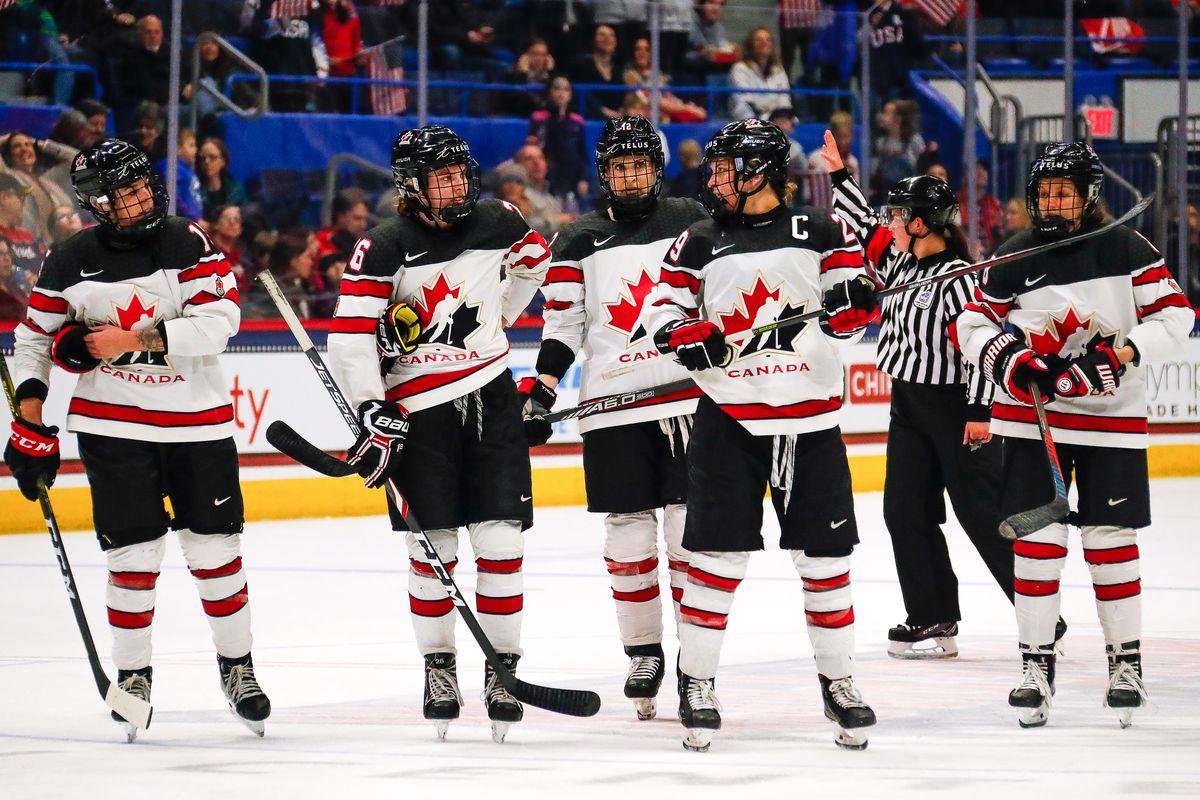 HOCKEY: DEC 14 Women's Rivalry Series - Canada v USA