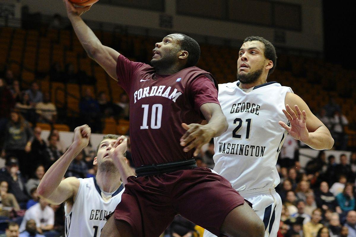 NCAA Basketball: Fordham at George Washington