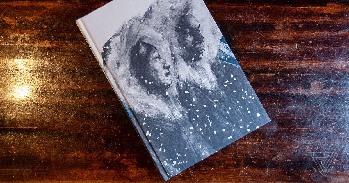 photo image Behind the gorgeous new illustrated edition of Ursula K Le Guin's The Left Hand of Darkness