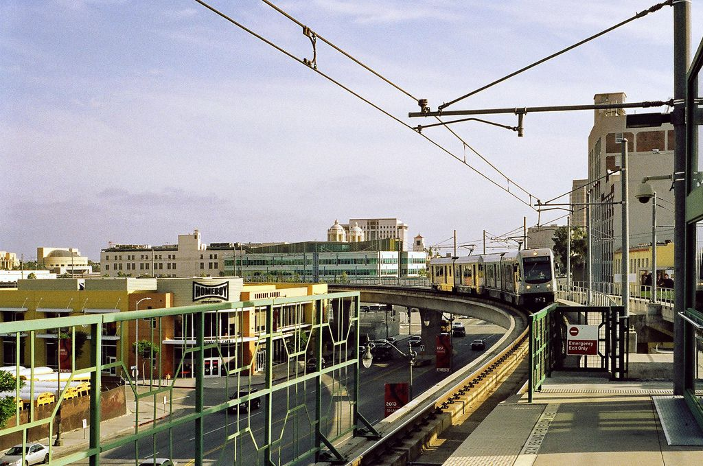 Developments built around transit, like Chinatown Gold Line station, are better for the environment