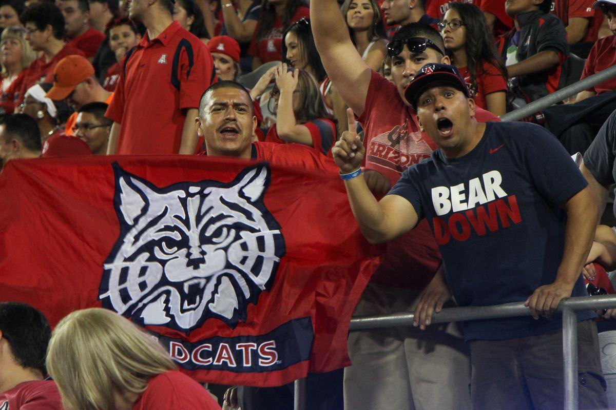 NCAA FOOTBALL: AUG 29 UNLV at Arizona