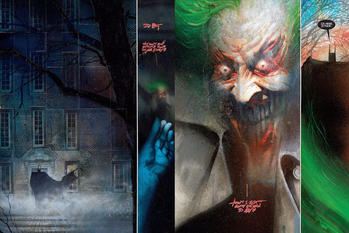 7336557a9bb2 Arkham Asylum 2 is the best  80s revamp DC Comics could make - Polygon