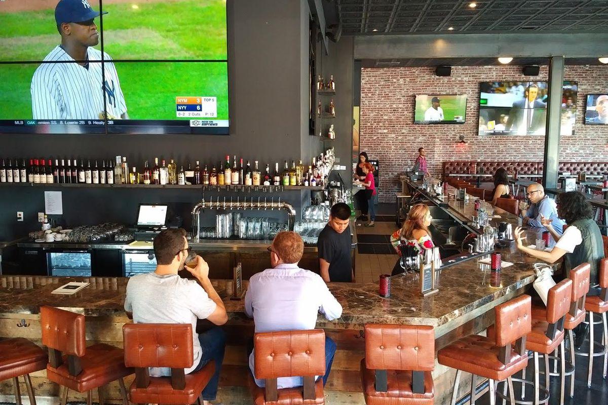 Inside The Nickel Bar, West LA