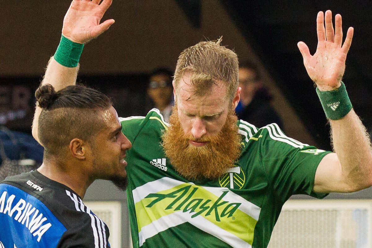 Quincy golazo, goatee bests Borcher beard, title-defending Timbers