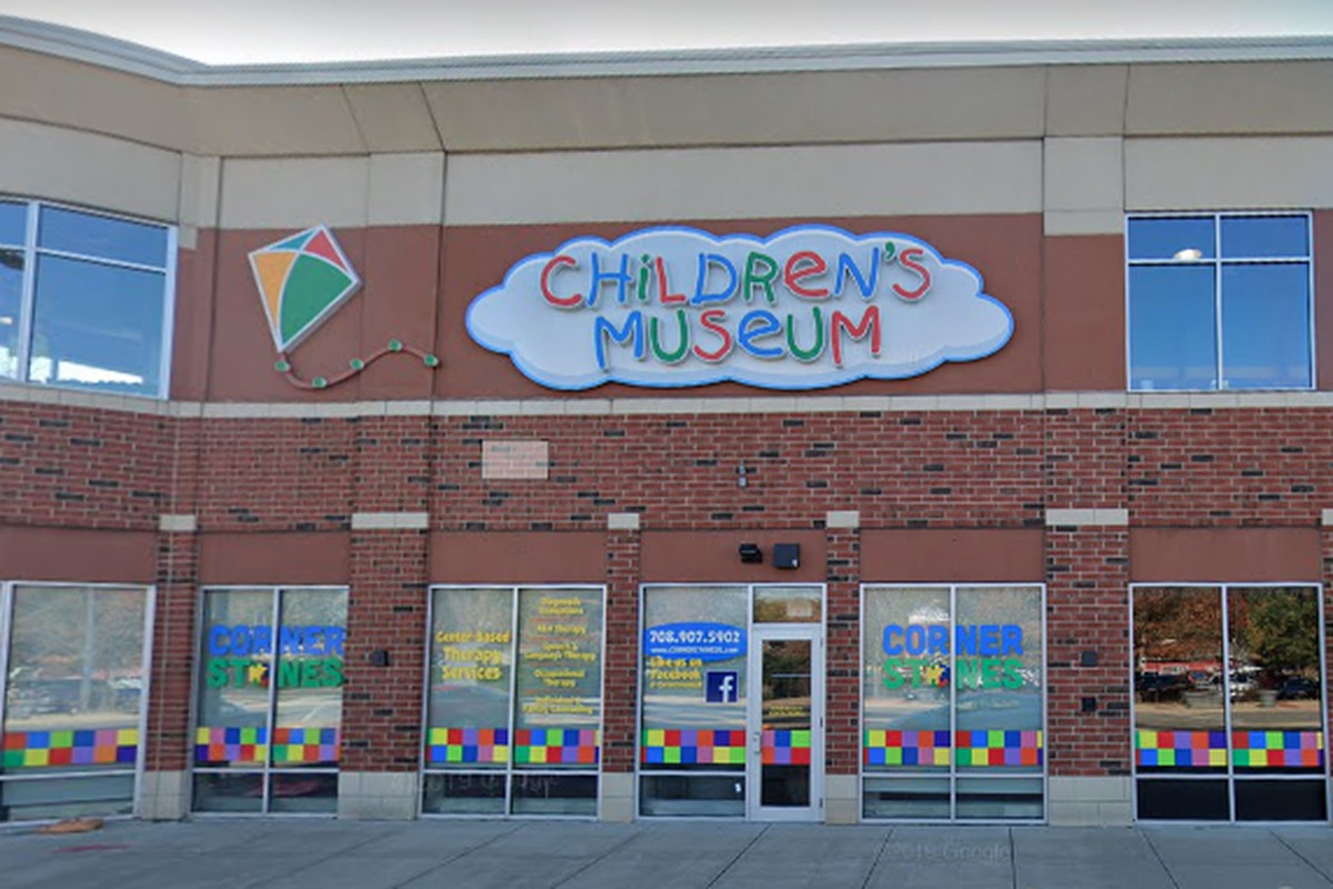 The exterior of The Children's Museum in Oak Lawn