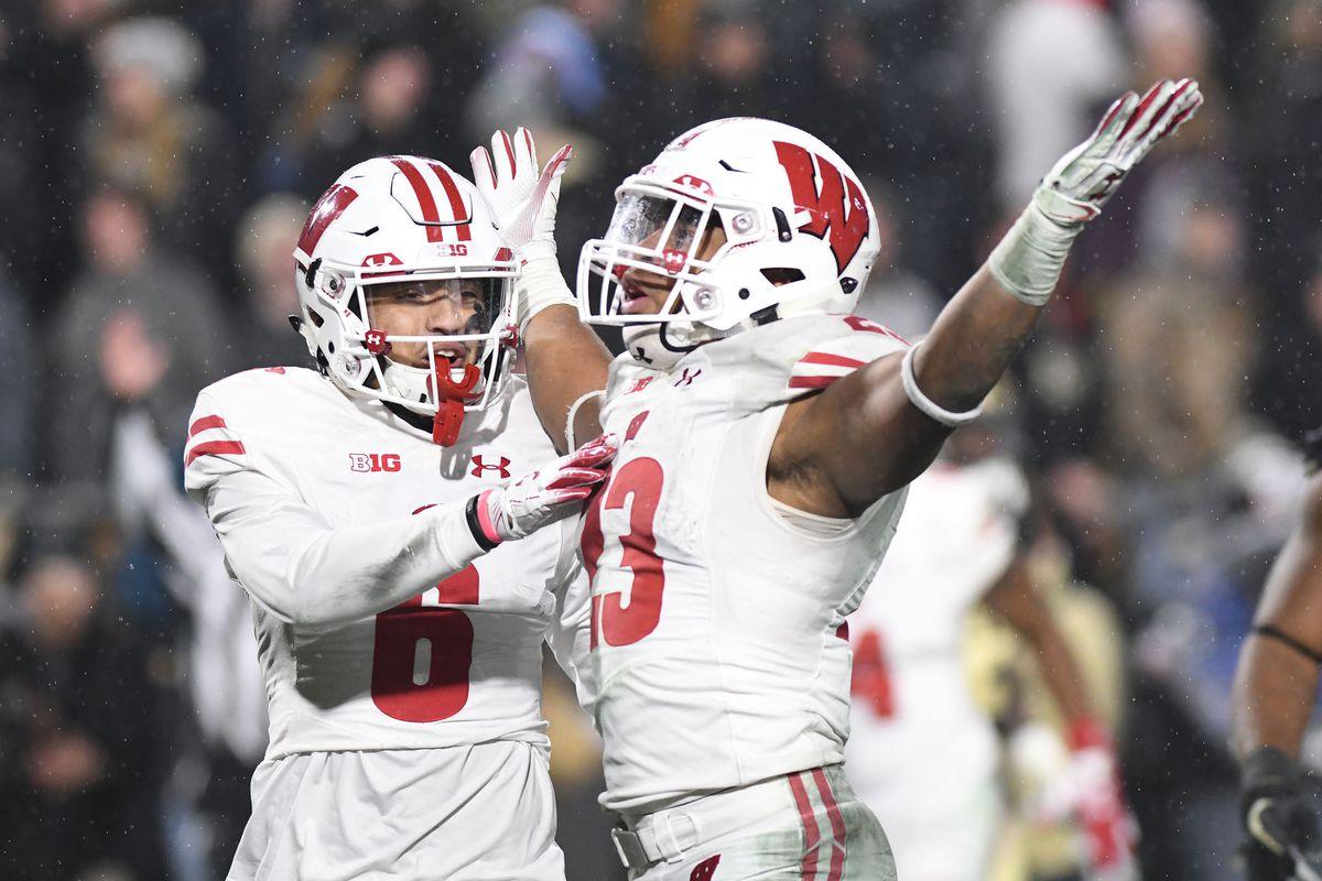 NCAA Football: Wisconsin at Purdue