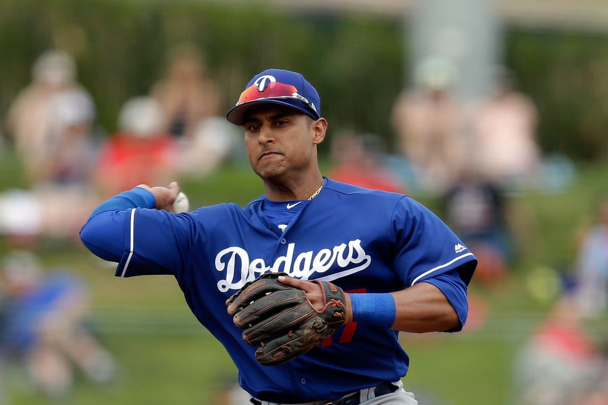 MLB: Spring Training-Los Angeles Dodgers at Los Angeles Angels