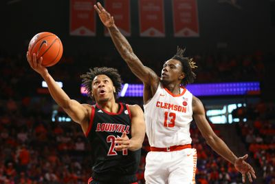 NCAA Basketball: Louisville at Clemson