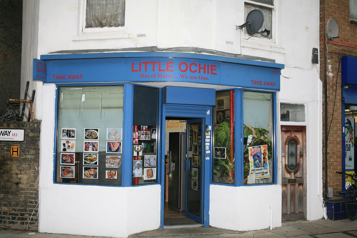 Little Ochie seafood restaurant, Camberwell, one of south London's best fish restaurants reopened after coronavirus lockdown in England