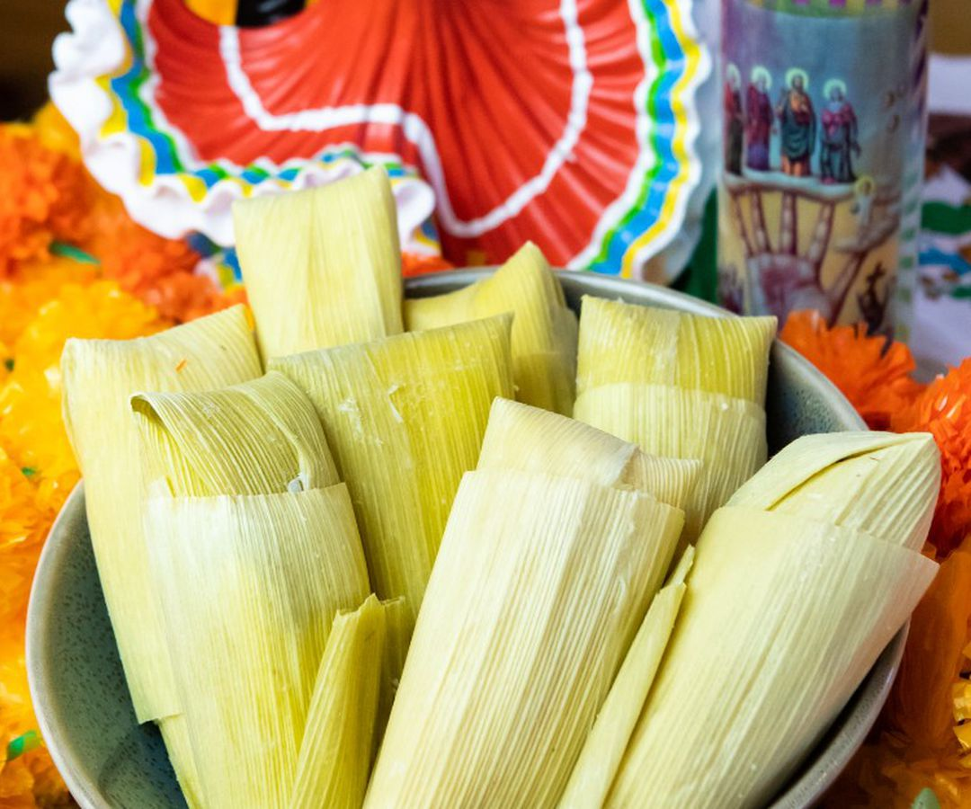 Tamales from El Chilito