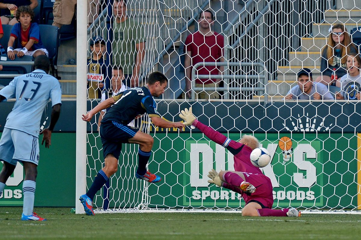 The Philadelphia Union had Sporting KC on their knees in a 4-0 slaughter on Saturday. Will the Dayton Dutch Lions be able to keep the anti-KC magic going in Open Cup play?