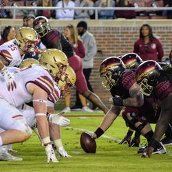 It was a physical,  ugly,  smash mouth game in Tallahassee.
