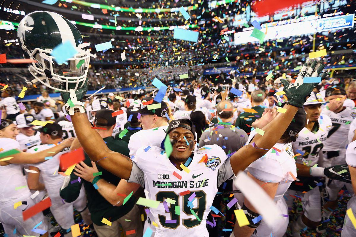 Goodyear Cotton Bowl - Michigan State v Baylor