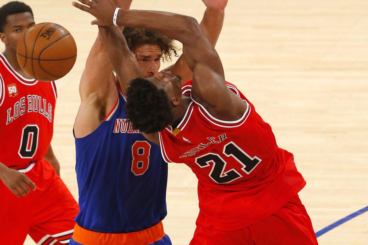NBA: Chicago Bulls at New York Knicks