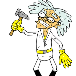 Mad Inventor, <em>Crazius Labcoatium</em>: This old guy will fix any broken present for a dollar. Broken presents have a chance of blowing up when you open them. This chance is based on your present skill.