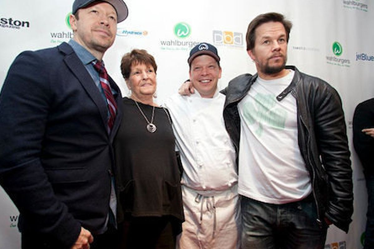 The Wahlberg family.