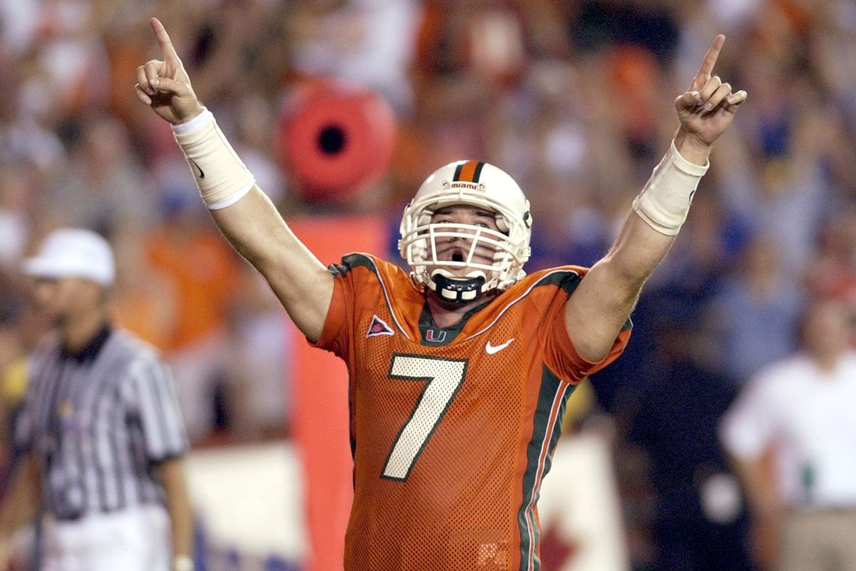 University of Florida vs.University of Miami - September 6, 2003