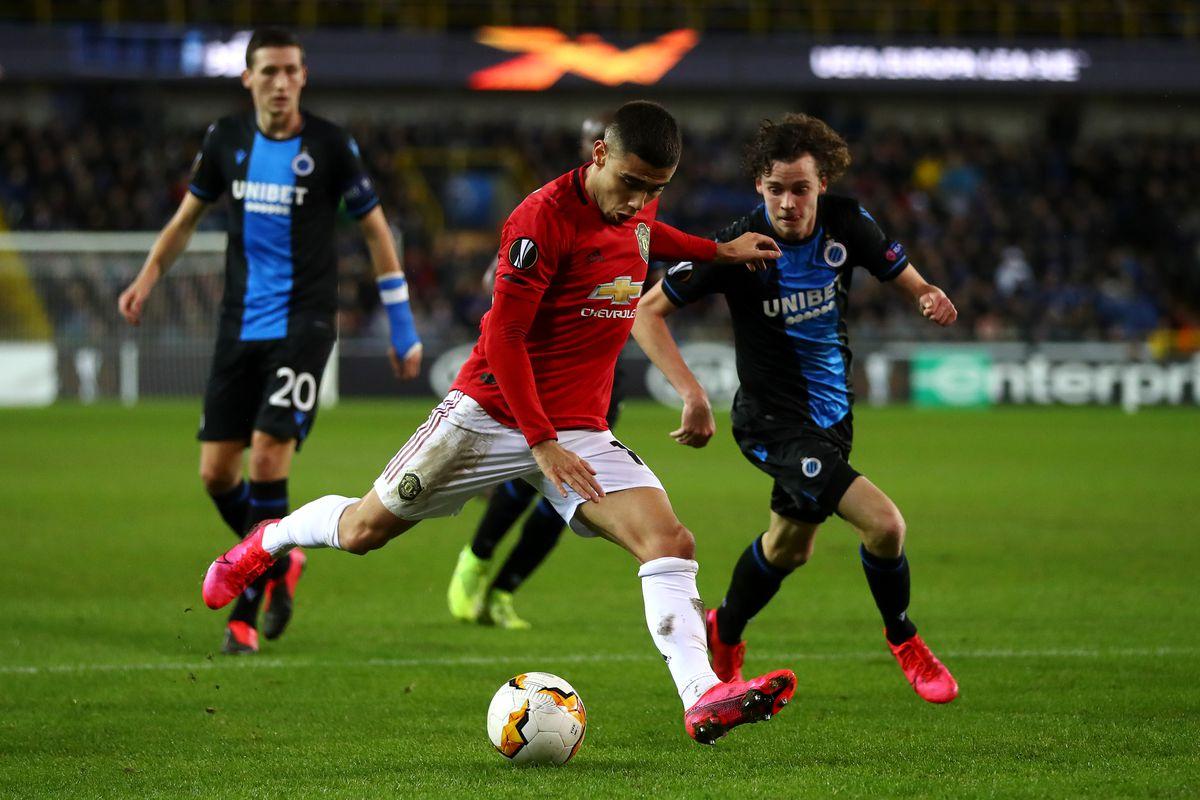 Club Brugge v Manchester United - UEFA Europa League Round of 32: First Leg