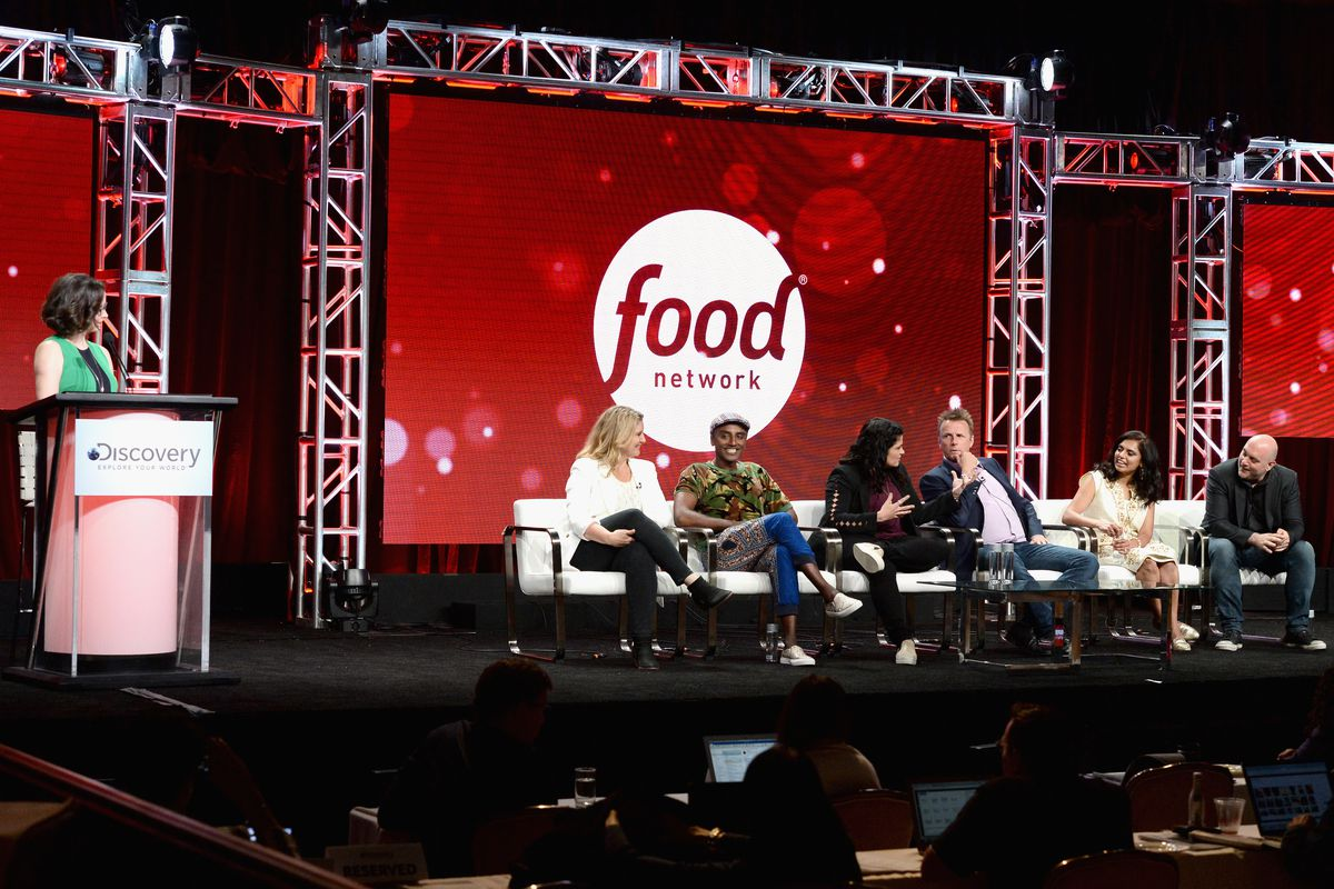 A food network panel discussion
