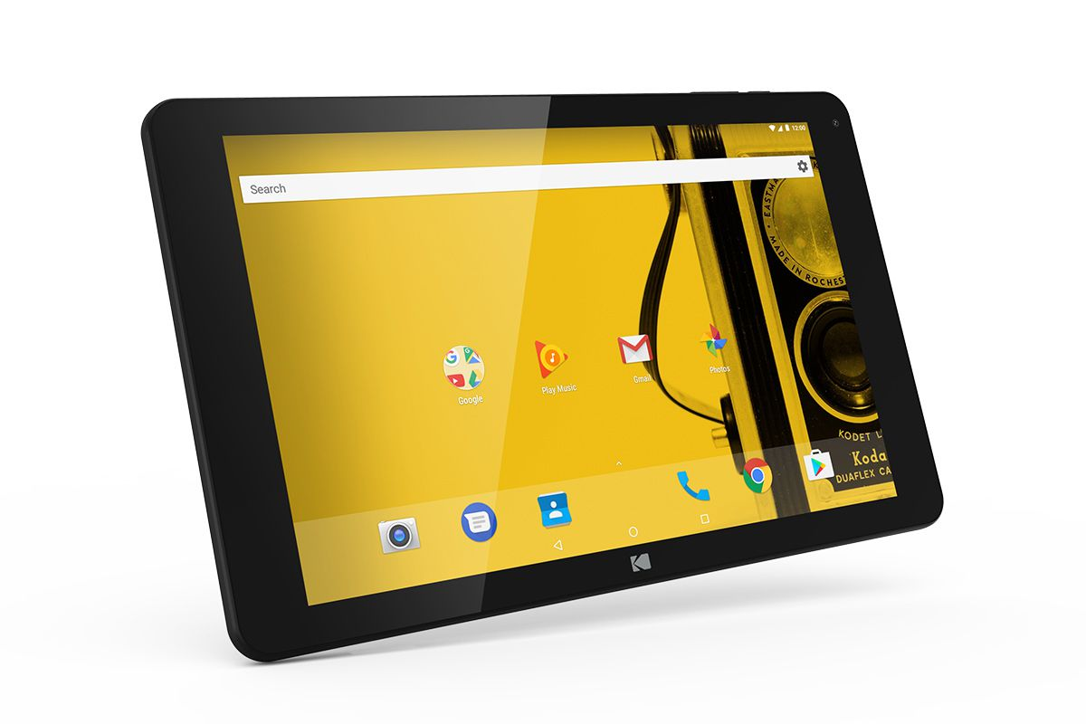 Kodak Is Selling Boring Android Tablets In Europe The Verge