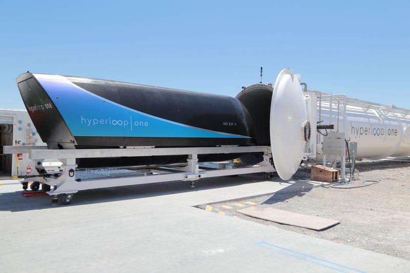 hyperloop test tube