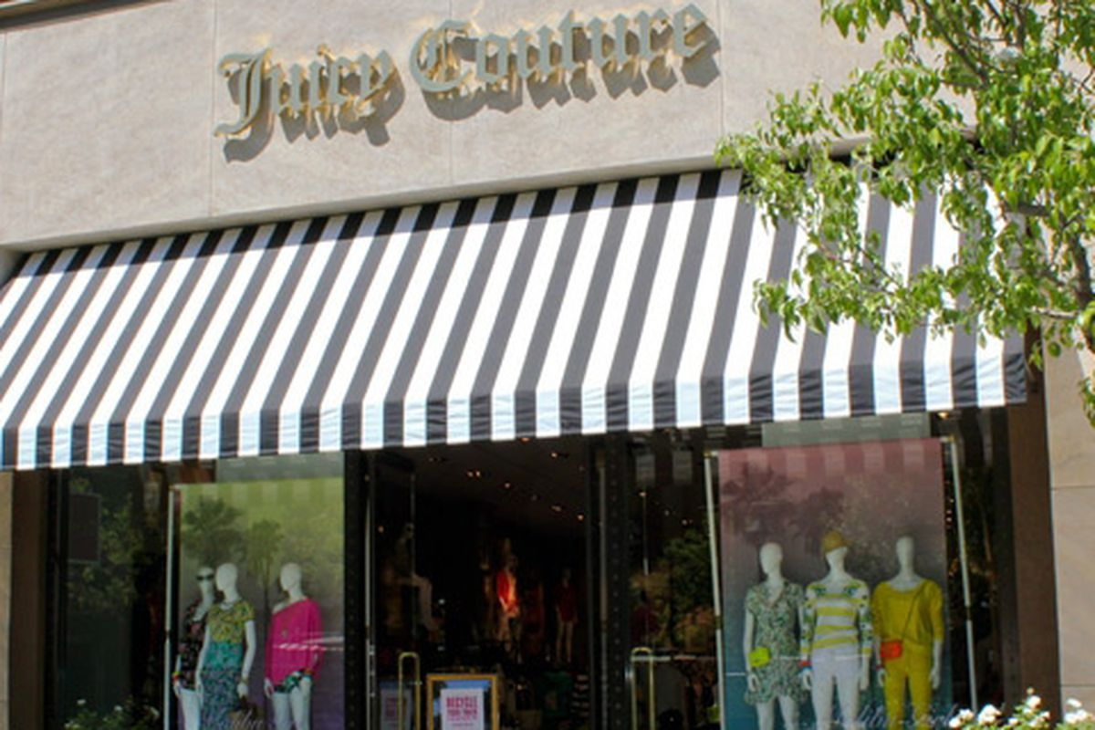 """Image of Juicy Couture at the Americana at Brand <a href=""""http://americanaatbrand.com/shop.php?id_shop=96"""">via</a>"""