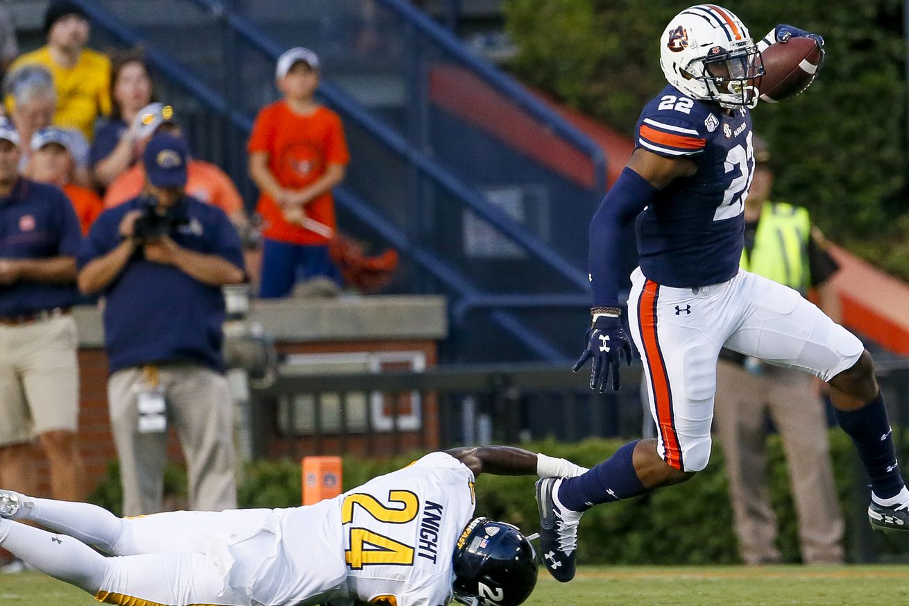 NCAA Football: Kent State at Auburn