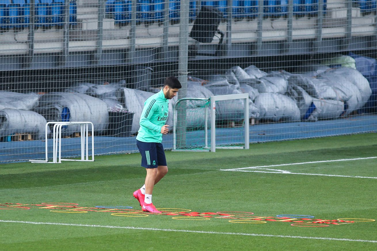 Asensio will train with Real Madrid squad when quarantine ends