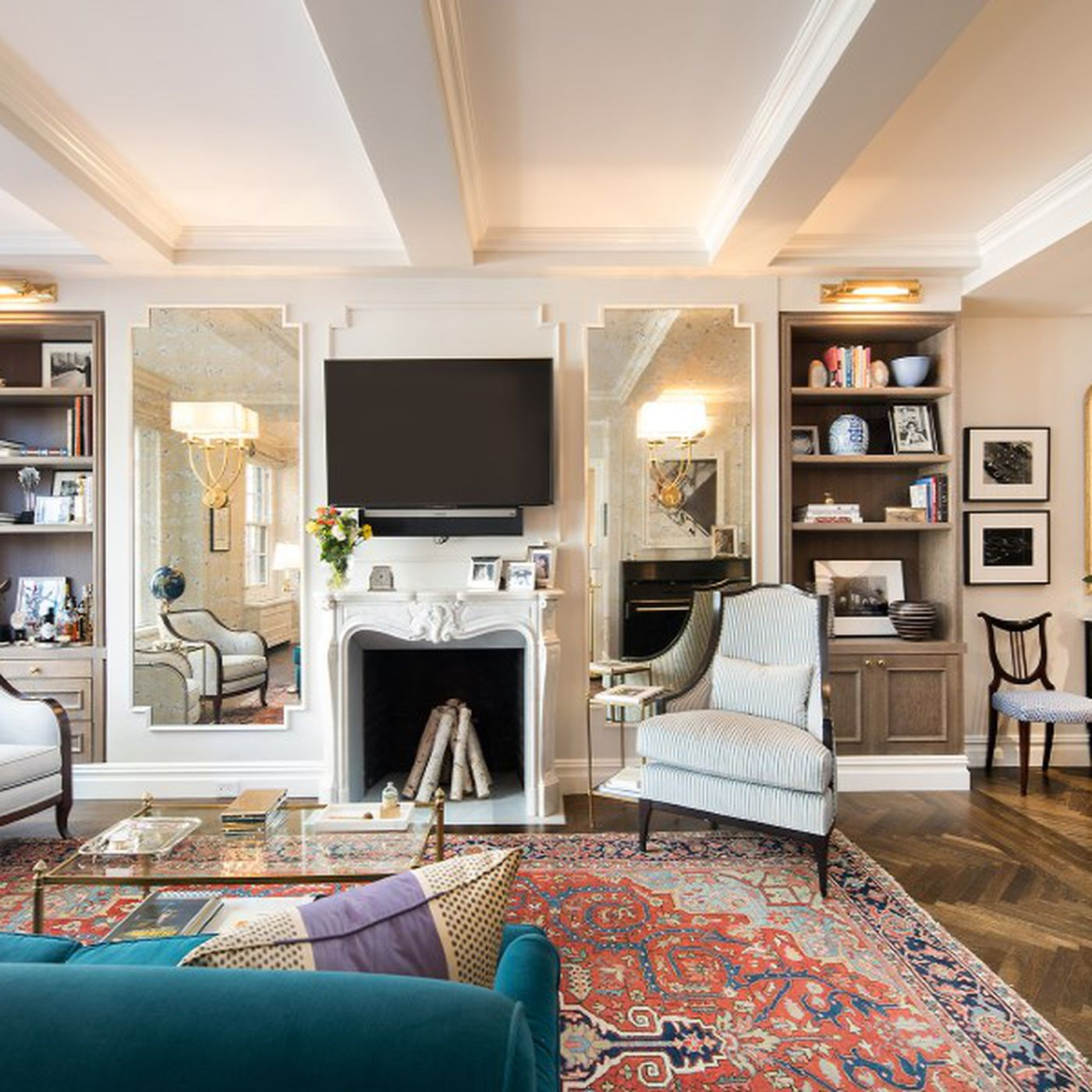 Emmy Rossum offloads her chic Sutton Place pied  terre Curbed NY
