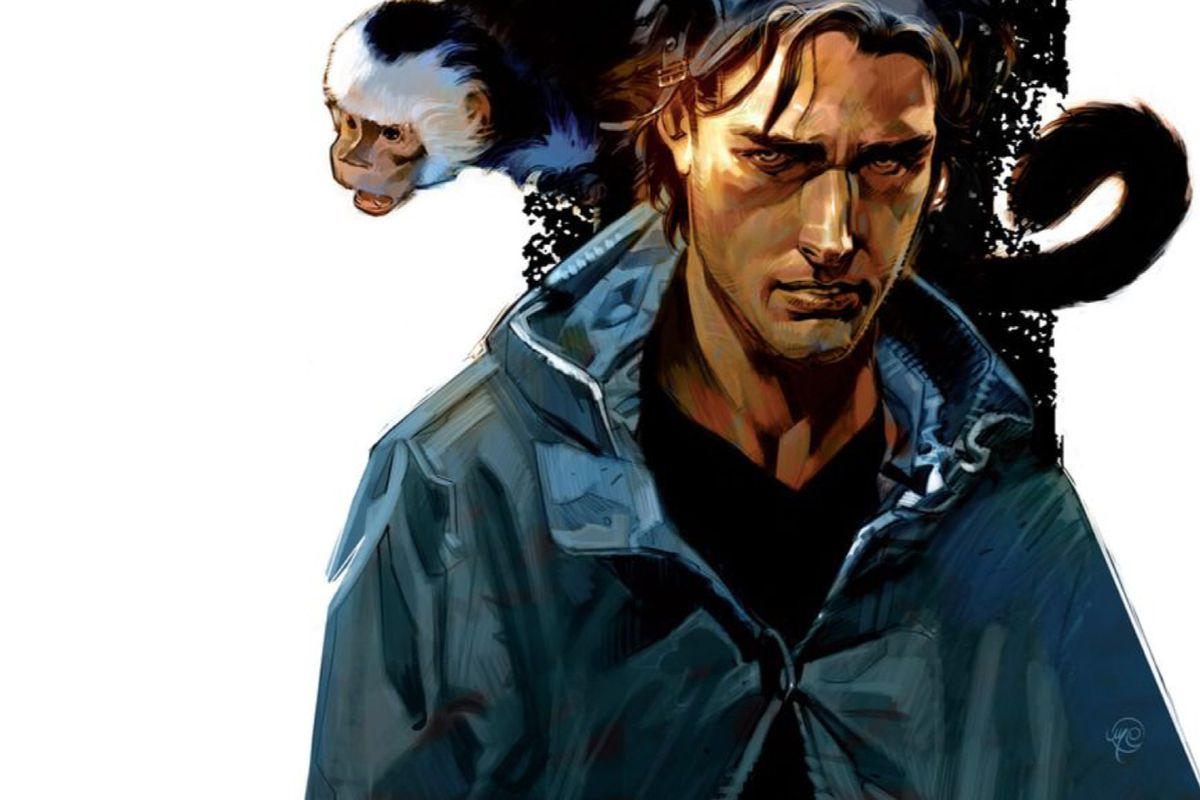 The cover of the Y: The Last Man Omnibus Vol. 1, DC Comics.