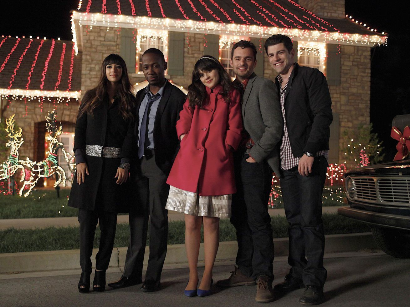 New Girl Christmas.