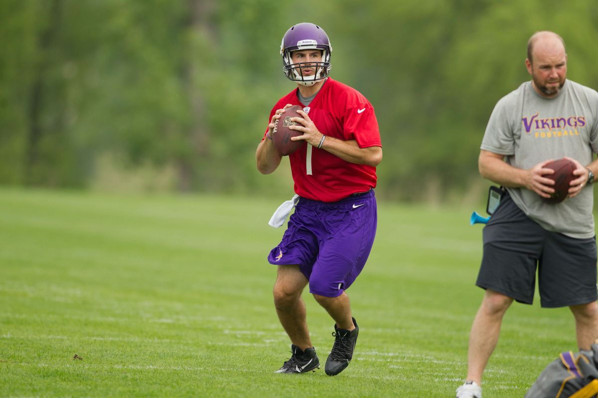 I can't wait to over-analyze everything Christian Ponder does at Training Camp.