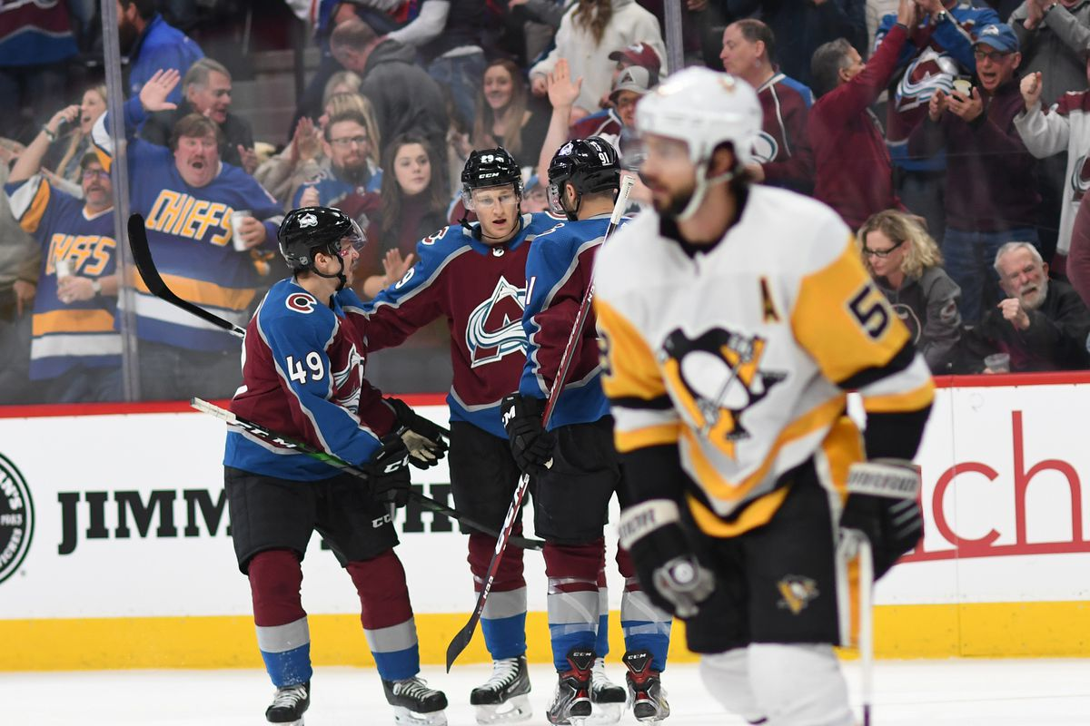 Avalanche take on the Penguins