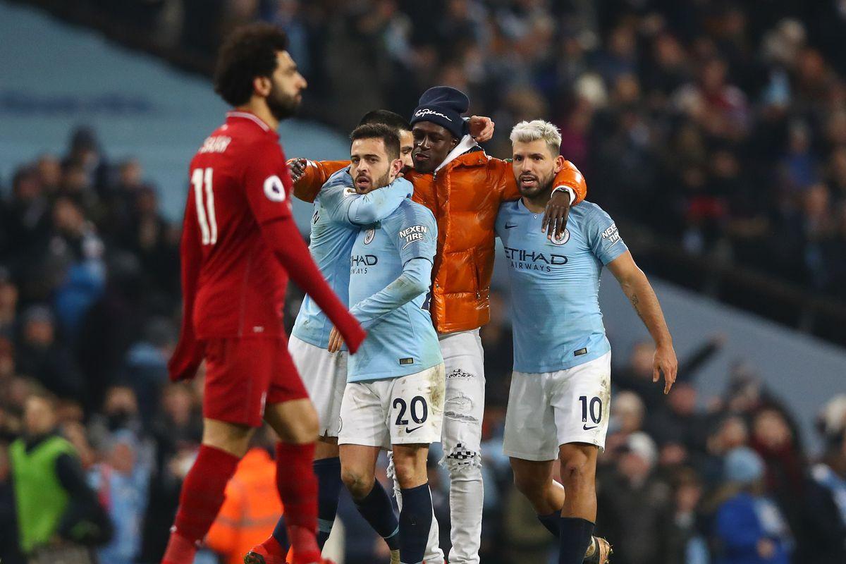 Salah, B.Silva & Aguero - Manchester City v Liverpool FC - Premier League