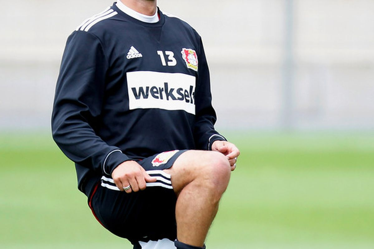 Former German captain Michael Ballack ... en route to MLS?