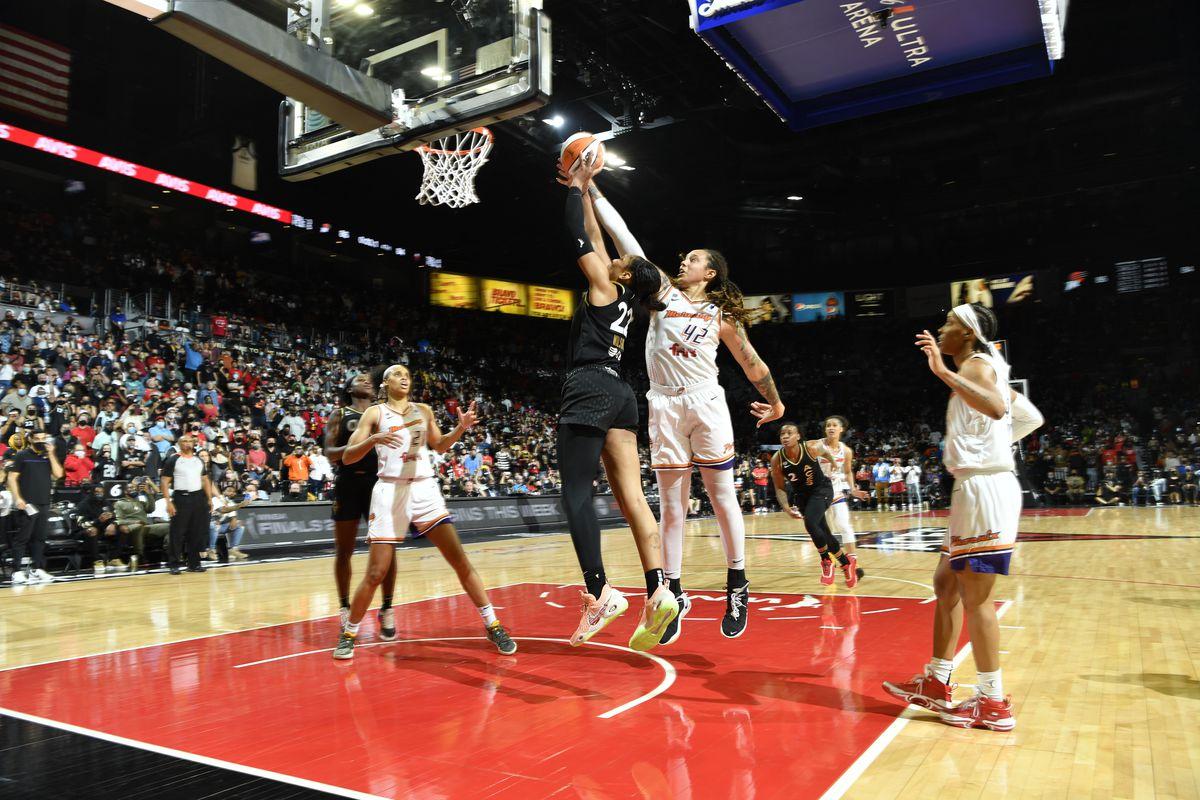 2021 WNBA Semifinals - Phoenix Mercury v Las Vegas Aces