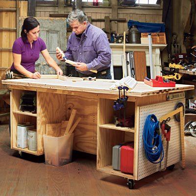 Workshop Tool Bench
